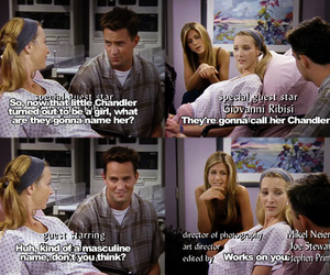 chandler, friends, and lol image