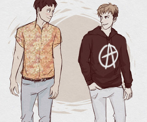 anime, jean, and marco image
