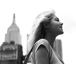 black and white, city, and empire state building image