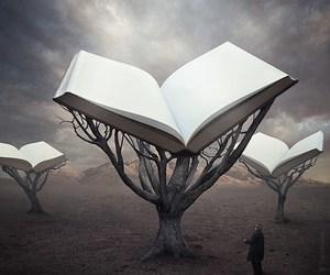 books, cool, and strange image