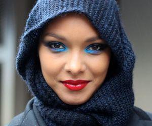 hijab and make up image