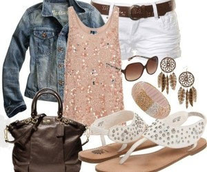 fashion, combination, and outfit image