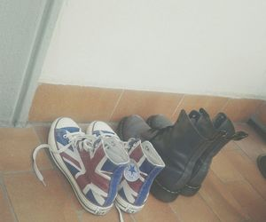 all star, dr martens, and shoes image