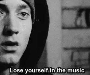 eminem, music, and lose yourself image