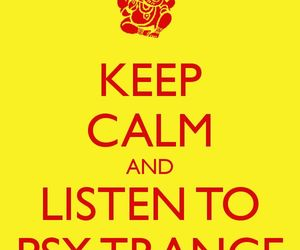 keep calm, music, and psychedelic image