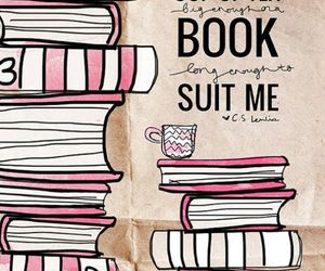book, pink, and cute image