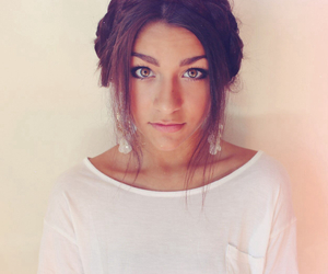 andrea russett, hair, and braid image