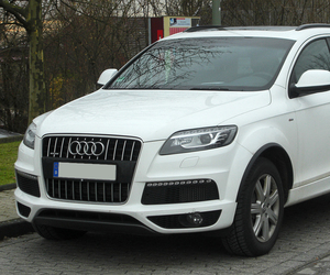 q7, audi, and white image