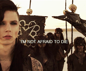 black veil brides, in the end, and andy biersack image