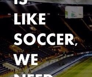soccer, goals, and life image