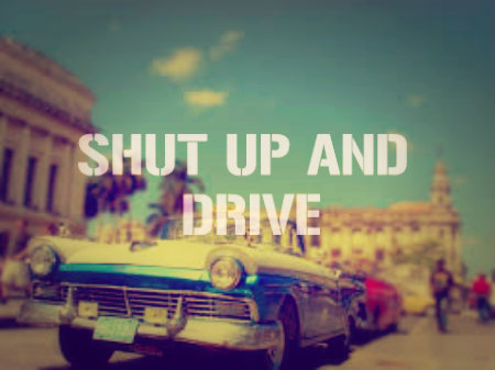 rihanna and shut up and drive image