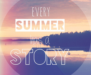 summer, story, and love image