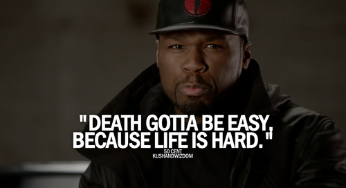 Quotes 50 Cent Glamorous 50 Cent  Via Tumblr On We Heart It