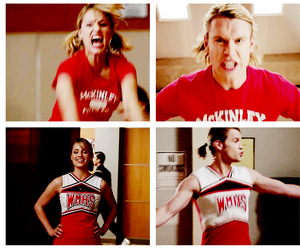 glee, quinn fabray, and dianna agron image