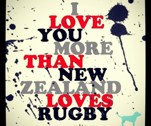 rugby and love image
