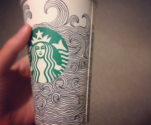 starbucks, art, and design image