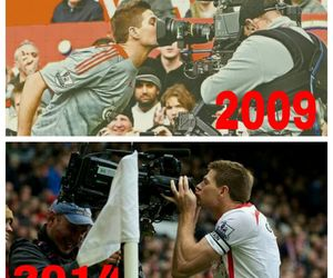 football, Liverpool, and gerrard image