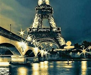 france and night image