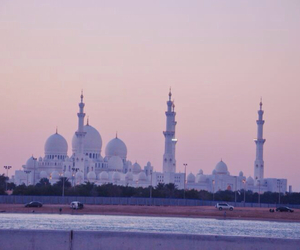 mosque, abudhabi, and love image