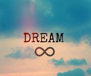 Dream, infinity, and sky image