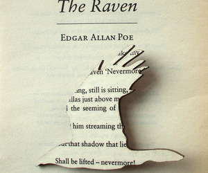 the raven and edgar allan poe image
