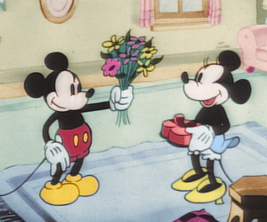 flowers, vintage, and mikey image