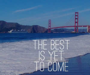 quotes, san francisco, and beach image