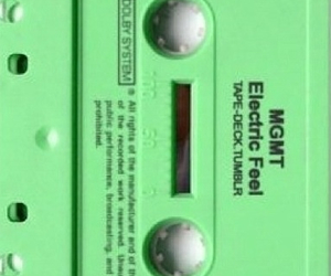 green, tape, and vcr image