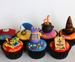 cupcakes, love, and harry potter image