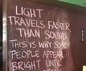 light, quote, and sound image