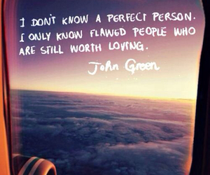 imperfect, john green, and quote image