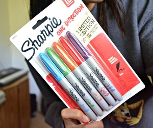 sharpies, quality tumblr, and one direction image