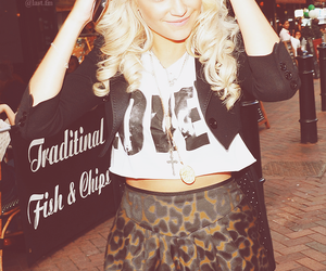 blonde, fashion, and leopard image