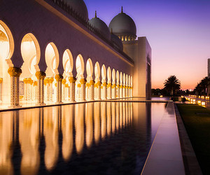 beautiful and mosque image