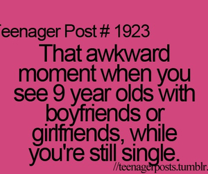 teenager post, single, and boyfriend image