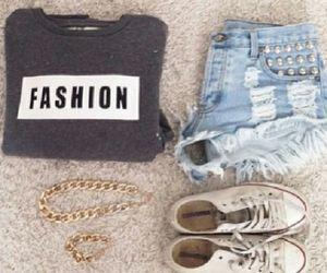 fashion, swaeter, and followme image