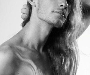 boys with long hair image