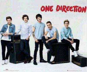 one direction, louis, and niall image