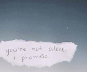 alone and promise image