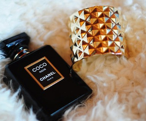 chanel, perfume, and bracelet image