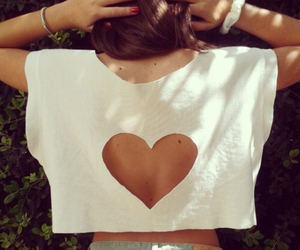 love, clothes, and heart image