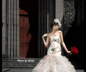 wedding, wedding dress, and wedding dresses image