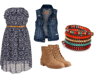 fashion, floral, and jacket image