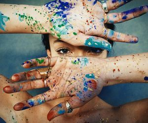 colors, hipster, and girls image