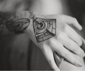awesome, illuminati, and Tattoos image