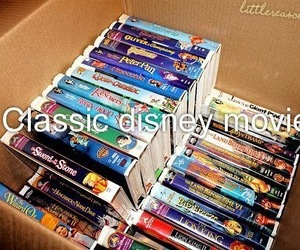 disney, classic, and movies image