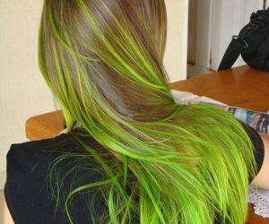 colorful, fashion, and hair color image