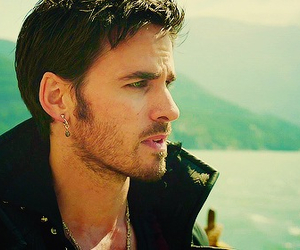 once upon a time, hook, and colin o'donoghue image