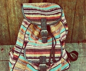 bag, hippie, and clothes image