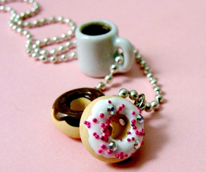 coffee, yum, and donuts image